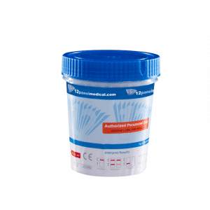 13 PANEL URINE TEST CUPS 25 IN 1 CASE