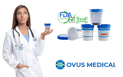 ovus medial clia waived srug testing supplies
