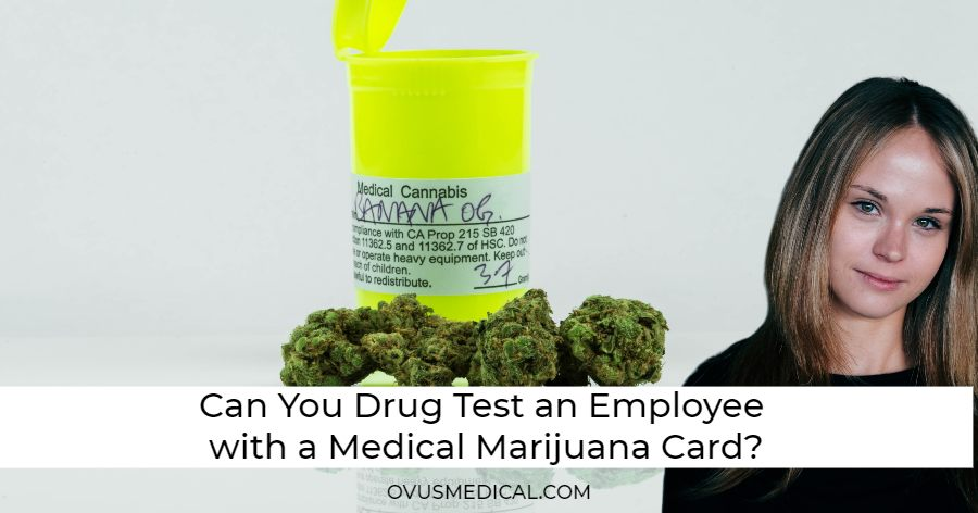 ovus medical Can You Drug Test an Employee with a Medical Marijuana Card?