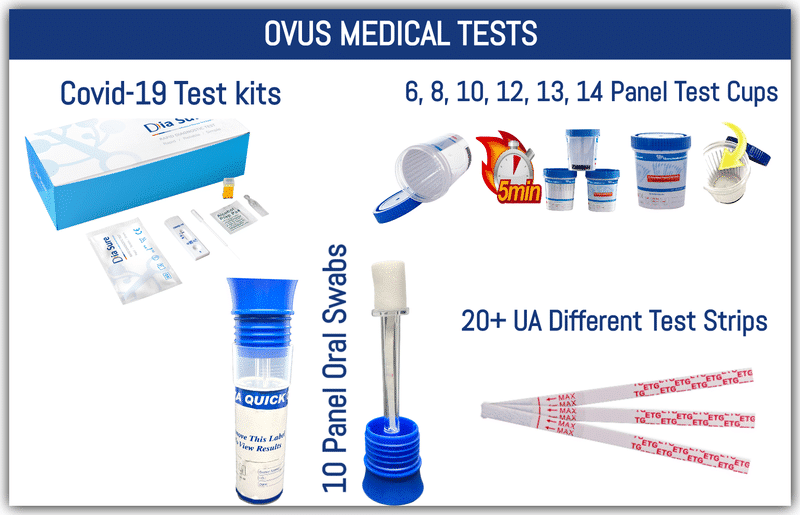 Ovus Medical Drug Tests
