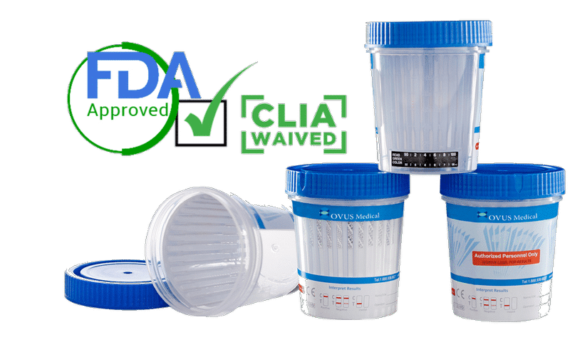 FDA CLIA Waived Test Cups