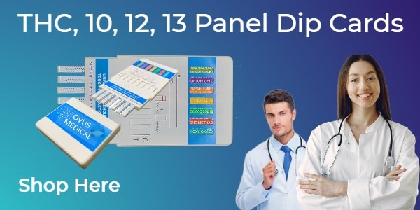 OVUS MEDICAL multi-panel dip cards new