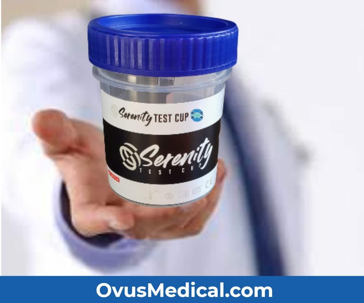 ovus medical serenity drug test cup