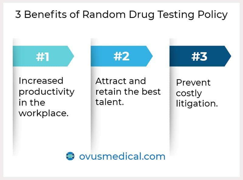 ovus medical 3 Benefits of Random Drug Testing Policy