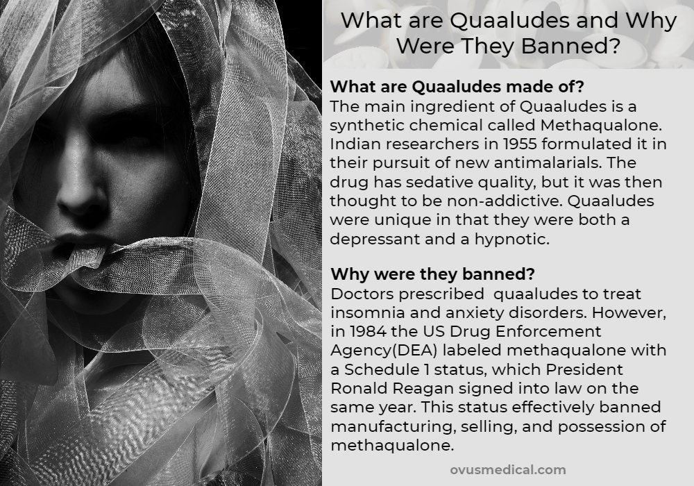 Ovus Medical What are Quaaludes and Why Were They Banned_