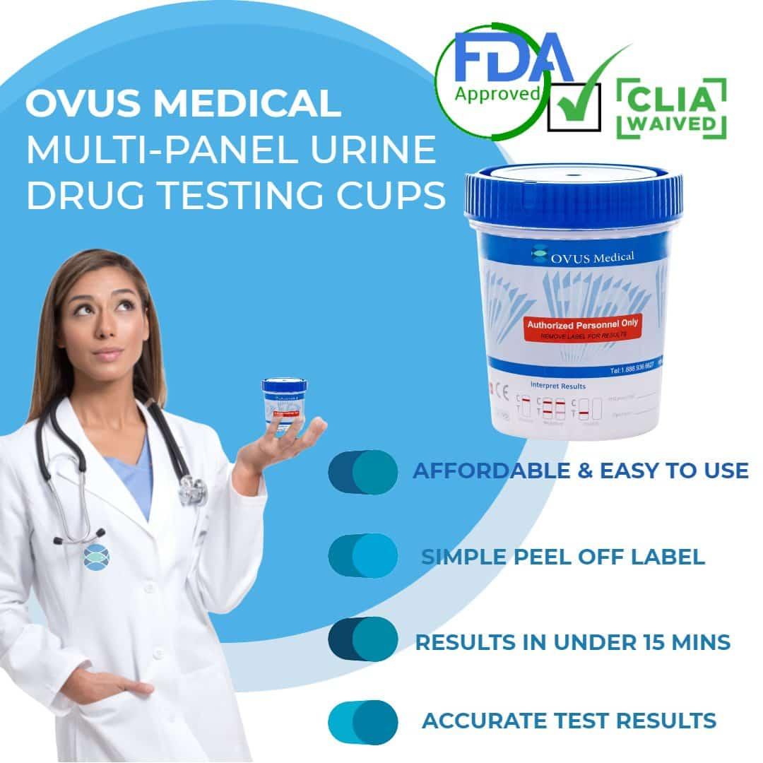 6 panel urine drug test