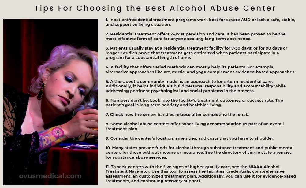 OVUS MEDICAL Tips For Choosing the Best Alcohol Abuse Center