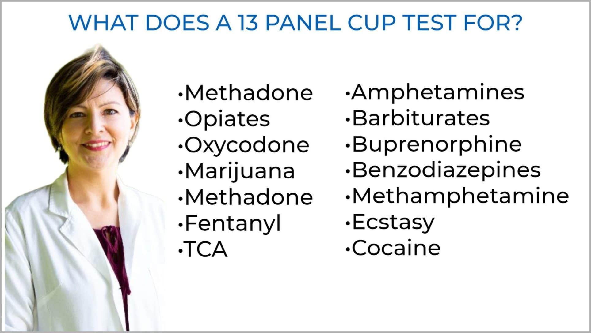 ovus medical WHAT DOES A 13 PANEL CUP TEST FOR