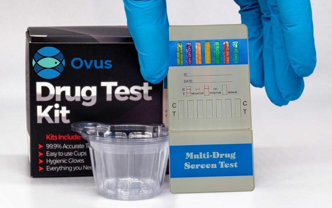ovus medical holding drug test dip card
