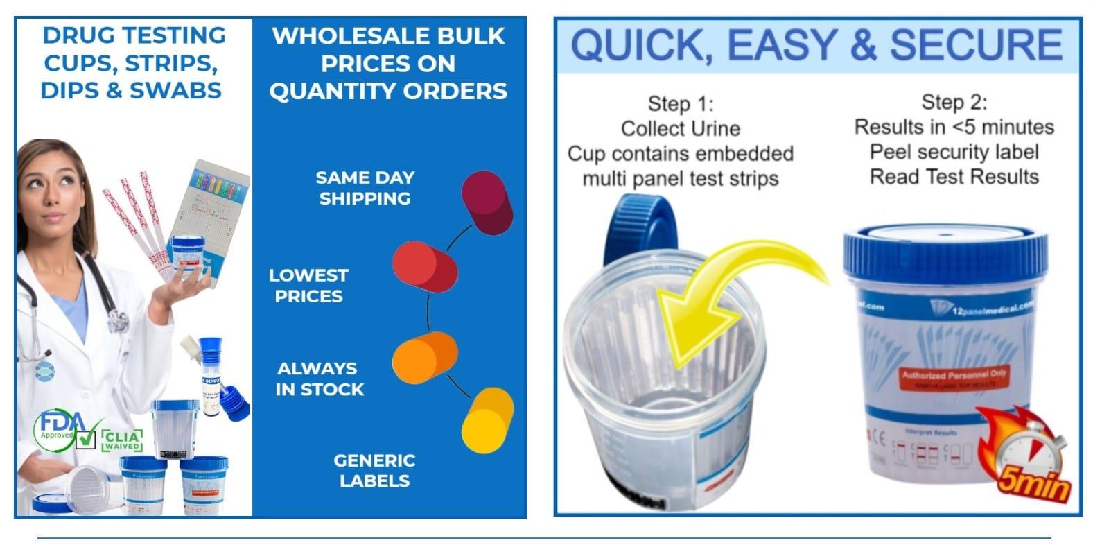 ovus medical urine drug test cups info ML